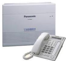 上海上门安装调试松下KX-TES824集团电话,修改分机,对设备移机搬家