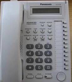 松下KX-TES824设置来电显示,加来电显示卡