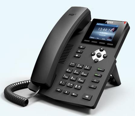 方位X3S彩色屏的SIP电话机,可以和IPPBX配套使用