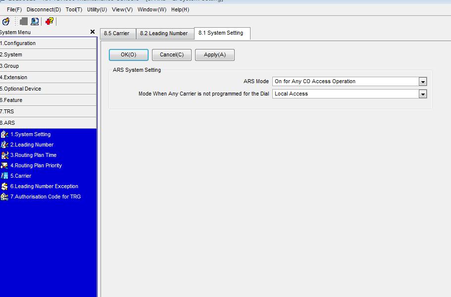 松下KX-TDA600设置经济路由图文教程